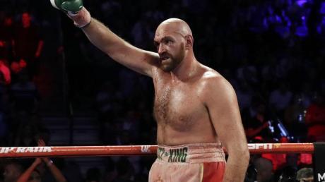 Tyson Fury will wieder Schwergewichts-Weltmeister werden.