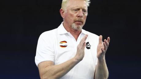 Freut sich auf das Berliner Rasen-Turnier der Frauen: Boris Becker.