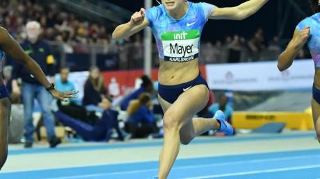 Startet für das Sprintteam Wetzlar: Lisa Mayer.