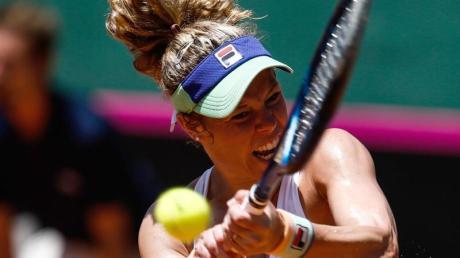 Die deutsche Tennis-Spielerin Laura Siegemund. Fed-Cup 2020 - Finale live in TV & Stream sehen: Termine & Zeitplan.
