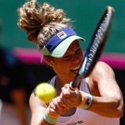 Die deutsche Tennis-Spielerin Laura Siegemund. Fed-Cup 2021 - Finale live in TV & Stream sehen: Termine & Zeitplan.