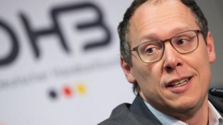 Mark Schober ist der Vorstandsvorsitzende des Deutschen Handballbunds (DHB).