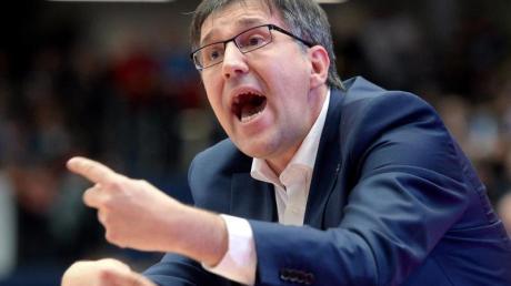 Silvano Poropat ist der Trainer des Mitteldeutschen BC.
