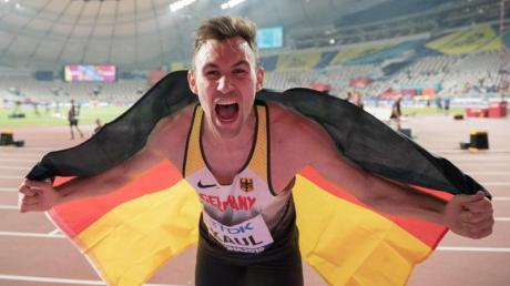 Zehnkampf-Weltmeister Niklas Kaul empfindet die Olympia-Verschiebung als «richtig».