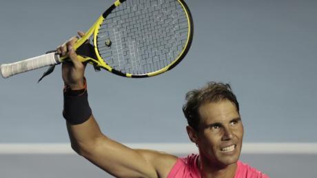 Siegte in Acapulco: Rafael Nadal.