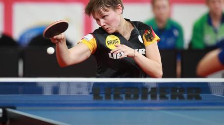 Nina Mittelham ist erneut deutsche Tischtennis-Meisterin.