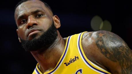 LeBron James von den Los Angeles Lakers ist der Superstar der NBA.