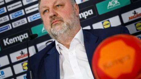 Andreas Michelmann ist der Präsident des Deutschen Handballbundes (DHB).