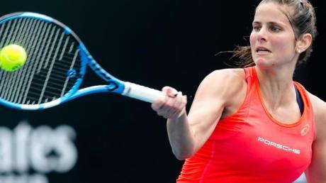 Auch Julia Görges wird nicht beim Turnier in Stuttgart spielen können.