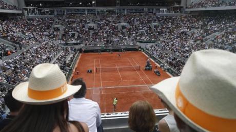 Die French Open in Paris werden in den Herbst verlegt.