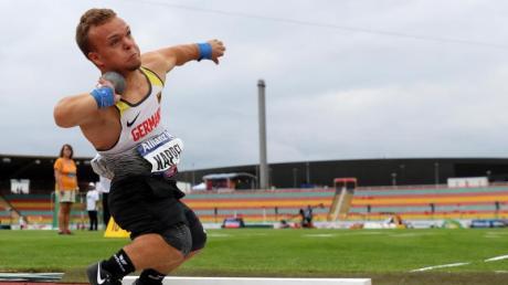 Kugelstoßer Niko Kappel steht im Kader für die Paralympics 2021. Lesen Sie hier, welche anderen Sportarten in Tokio im Rahmen der paralympischen Sommerspiele abgehalten werden.