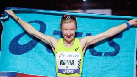 Katharina Steinruck ist derzeit die beste deutsche Marathonläuferin.