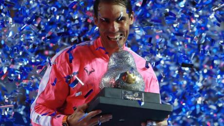 Auf Siegestrophäen muss Rafael Nadal derzeit verzichten.