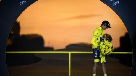 Der Kolumbianer Egan Bernal hatte 2019 die Tour de France gewonnen.