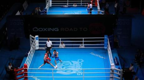 Die Olympia-Qualifikation der Boxer in London.