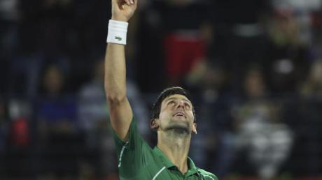 Leistet auch einen finanziellen Beitrag in der Corona-Krise: Tennis-Ass Novak Djokovic.