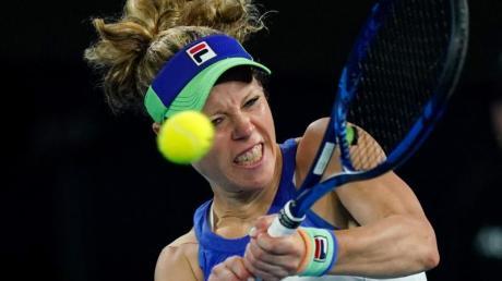 Tennisspielerin Laura Siegemund trainiert derzeit in Florida.