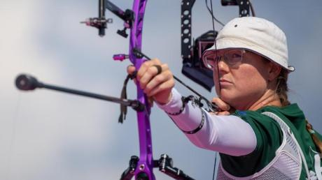 Bogenschützin Lisa Unruh gewann bei den Olympischen Spielen in Rio die Silbermedaille.