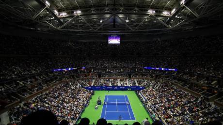 Die Organisatoren der US Open halten noch an der Austragung ihrer Veranstaltung fest.