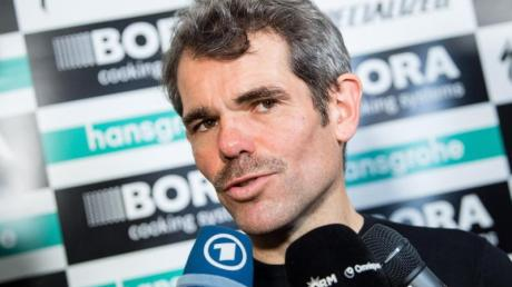 Ralph Denk, Teammanager vom Radsportteam Bora-hansgrohe.