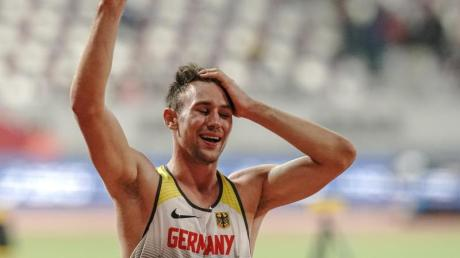 Niklas Kaul kann der Olympia-Verschiebung auch etwas Positives abgewinnen.