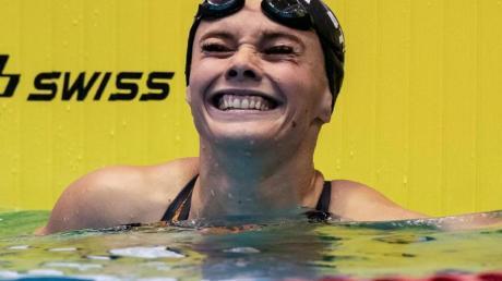 Die Schwimmerin Jessica Steiger muss ihr Sportler-Leben neu organisieren.