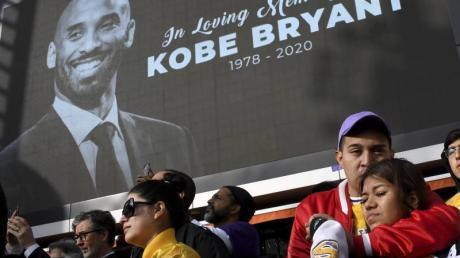 Wurde in die Hall of Fame des Basketballs aufgenommen: Kobe Bryant.