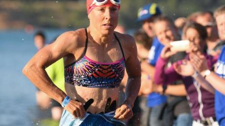 Ist durch die Coronavirus-Pandemie in ihren Trainingsmöglichkeiten eingeschränkt:Ironman-Siegerin Anne Haug.