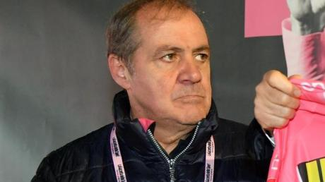 Mauro Vegni, Direktor des Giro d'Italia, ist in Sorge.