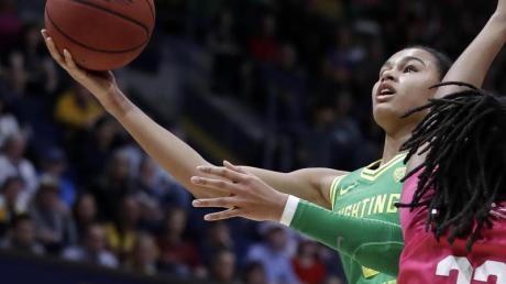 Beste Chancen im Draft der WNBA: Satou Sabally bei einem Spiel in Aktion.