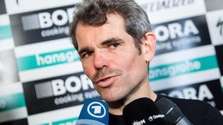 Ralph Denk ist der Teamchef vom deutschen Radrennstall Bora-hansgrohe.