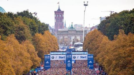 Der Berlin-Marathon wird im diesem Jahr nicht stattfinden.