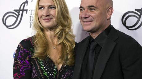 50 Jahre alt und glücklich mit Steffi Graf verheiratet: Andre Agassi.