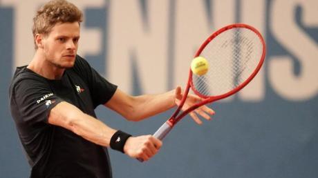 Yannick Hanfmann wird nicht bei den US Open aufschlagen können.
