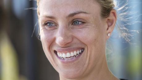 Hält sich aktuell mit Trainingseinheiten in ihrer Tennis-Akademie in Puszczykowo fit: Angelique Kerber.