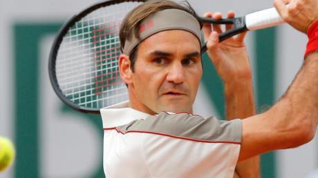 Spendet für gute Zwecke in Afrika: Tennisstar Roger Federer.