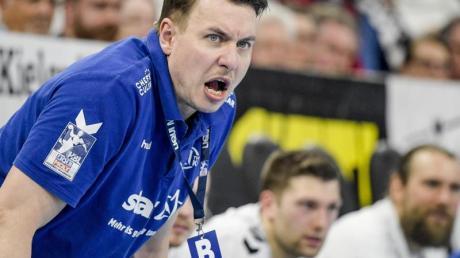 Filip Jicha kann sich im Handball eine Wurfuhr vorstellen.