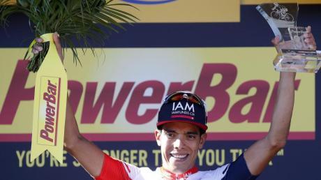 Wurde wegen Epo-Dopings gesperrt: Ex-Tour-Etappensieger Jarlinson Pantano.