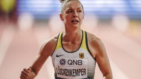 «Ich glaube, wer betrügen will, findet eh immer einen Weg», sagt Gina Lückenkemper zum Thema Doping.