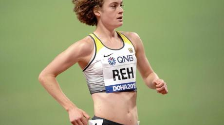 Alina Reh lief in Berlin die 10 Kilometer in starken 31:26 Minuten.