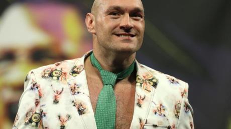Will 2021 zwei Kämpfe gegen Anthony Joshua austragen: Tyson Fury.