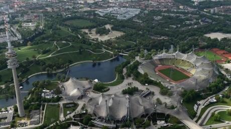 Das Olympiastadion in München ist Austragungsort der European Championships 2022.