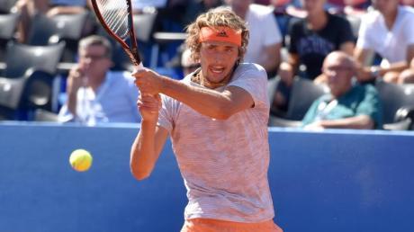 Alexander Zverev hat das Finale gegen Novak Djokovic verpasst.