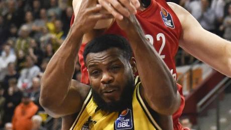 Fällt für die MHP Riesen Ludwigsburg im ersten Finale gegen Alba aus: Marcos Knight.
