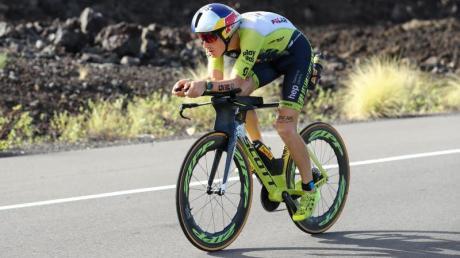 Sebastian Kienle stürzte mit dem Rad.