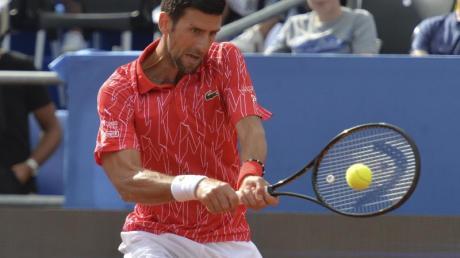 Begab sich nach einem positiven Coronatest in Quarantäne: Tennisstar Novak Djokovic.