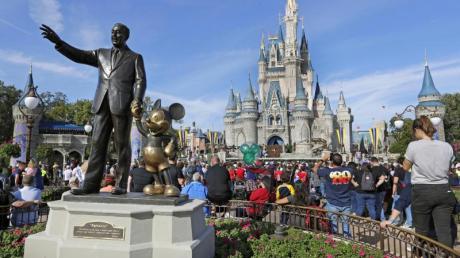 Die NBA-Saison soll im Disney World Resort in Orlando fortgesetztwwerden.