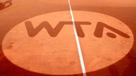 Das Logo der Women's Tennis Association (WTA).