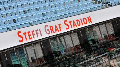 Auch im «Steffi Graf Stadion» im Berliner Grunewald wird wieder Tennis gespielt.