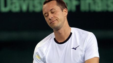 Sieht eine mögliche Austragung der US Open eher kritisch: Philipp Kohlschreiber.